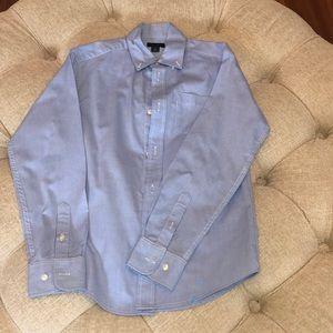 Tommy Hilfiger Blue Button Down Size 12